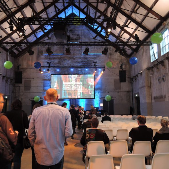 News 2016/10/31Attended the Service Design Global Conference in Amsterdam